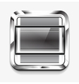 Scroller square icon vector