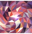 Bright abstract triangles grid background vector