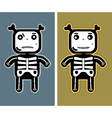 Funny child bones vector