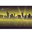 Night cityscape vector