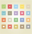 Basic web icons 2 vector