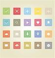 Basic web icons 2 vector