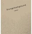 Brown grunge background vector