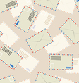 White envelope seamless wallpaper vector