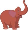 Cheerful elephant vector