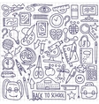 School education - doodles vector