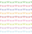 Uk party bunting vector