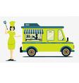 Food truck vector