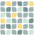 Abstract gray yellow rounded squares seamless vector