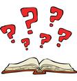 Mystery book vector