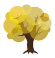 Abstract autumn tree eps10 vector