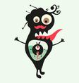 Happy monsters - set 23 vector