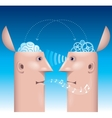 Different mind vector