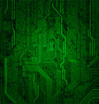 Grungy circuit vector