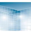 Glass walls of buildings - windows vector