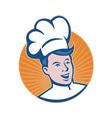 Chef cook baker vector