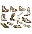Shoes of dreams vector