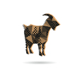 Goat abstract isolated vector
