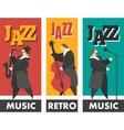 Jazz band vector