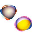 Organic color blob vector