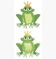 Frog prince vector
