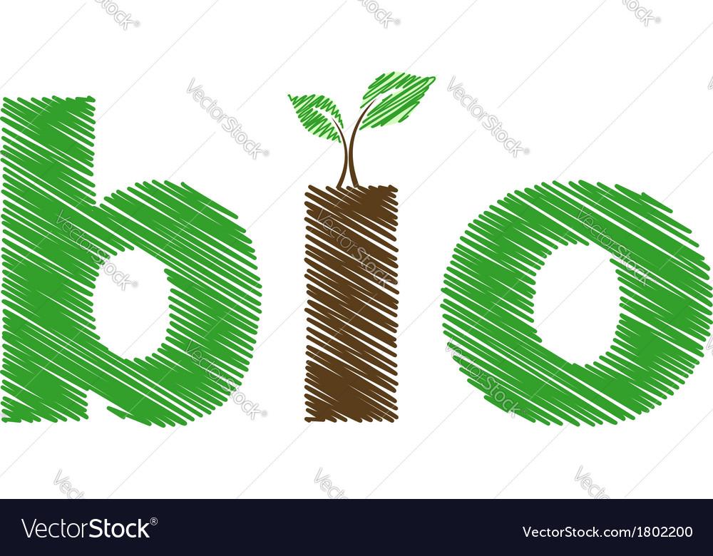 Bio logo vector   Price: 1 Credit (USD $1)