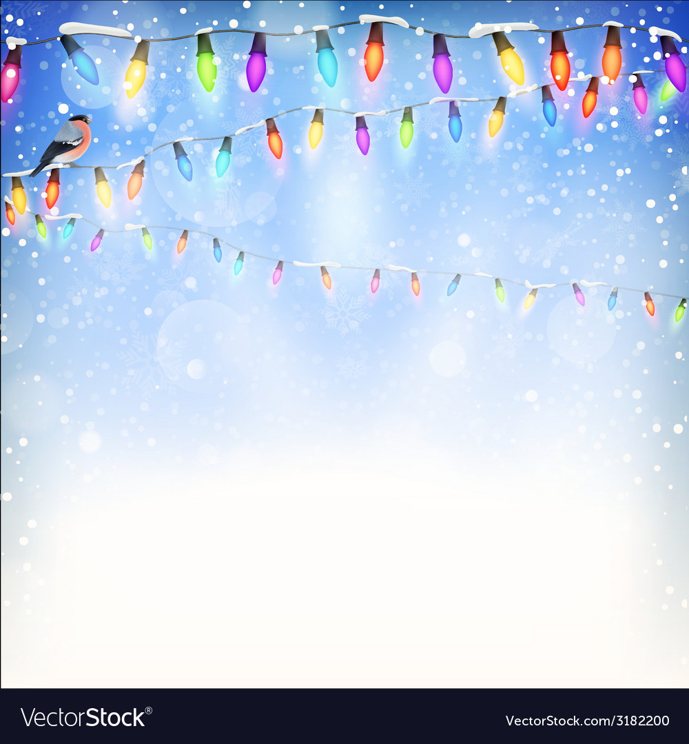 Blue christmas background eps 10 vector | Price: 1 Credit (USD $1)