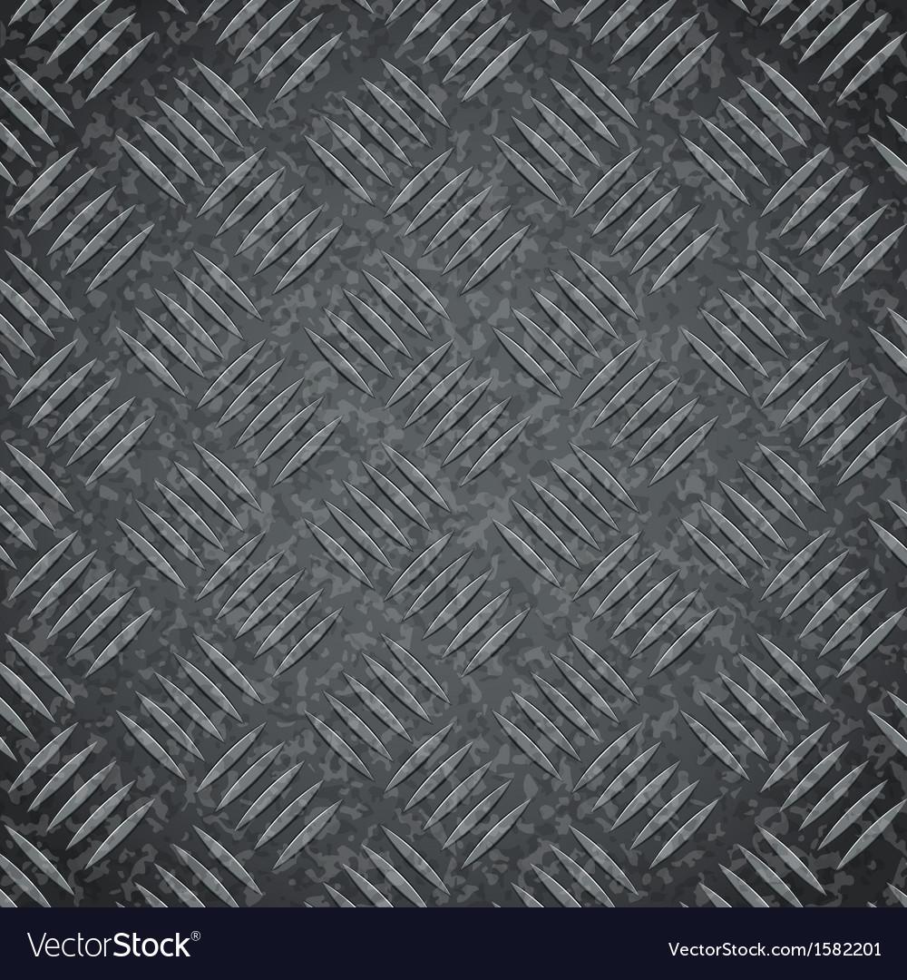 Metal dark gray texture background vector | Price: 1 Credit (USD $1)