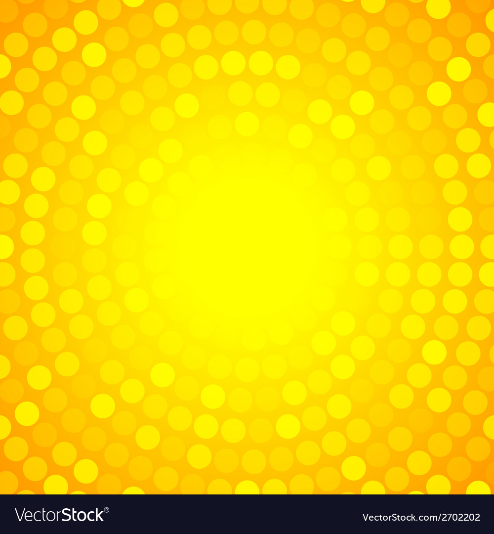 Abstract orange circular technology background vector | Price: 1 Credit (USD $1)