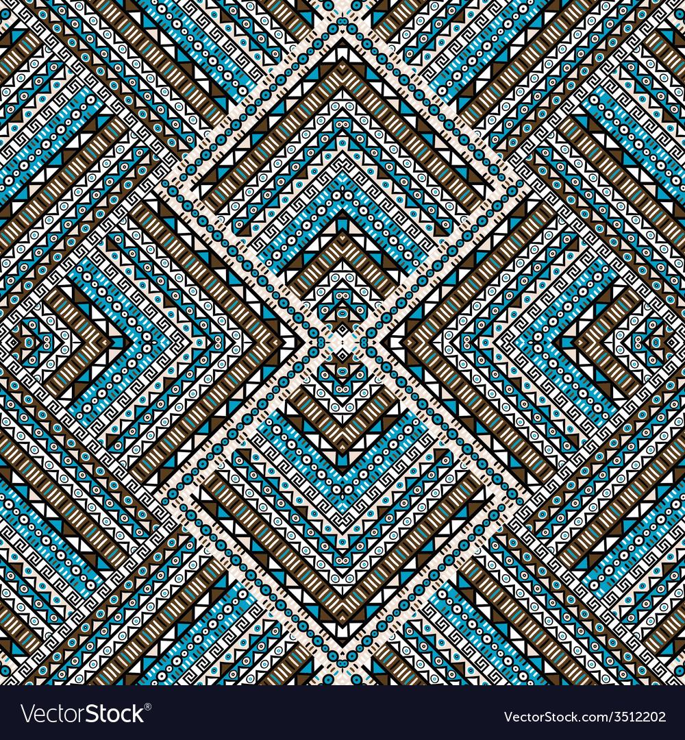 Ethno patchwork design vector | Price: 1 Credit (USD $1)