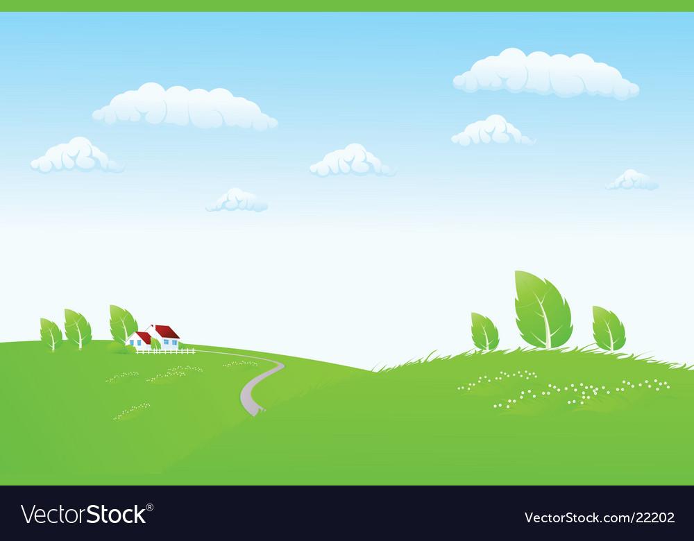 Nature render vector | Price: 1 Credit (USD $1)