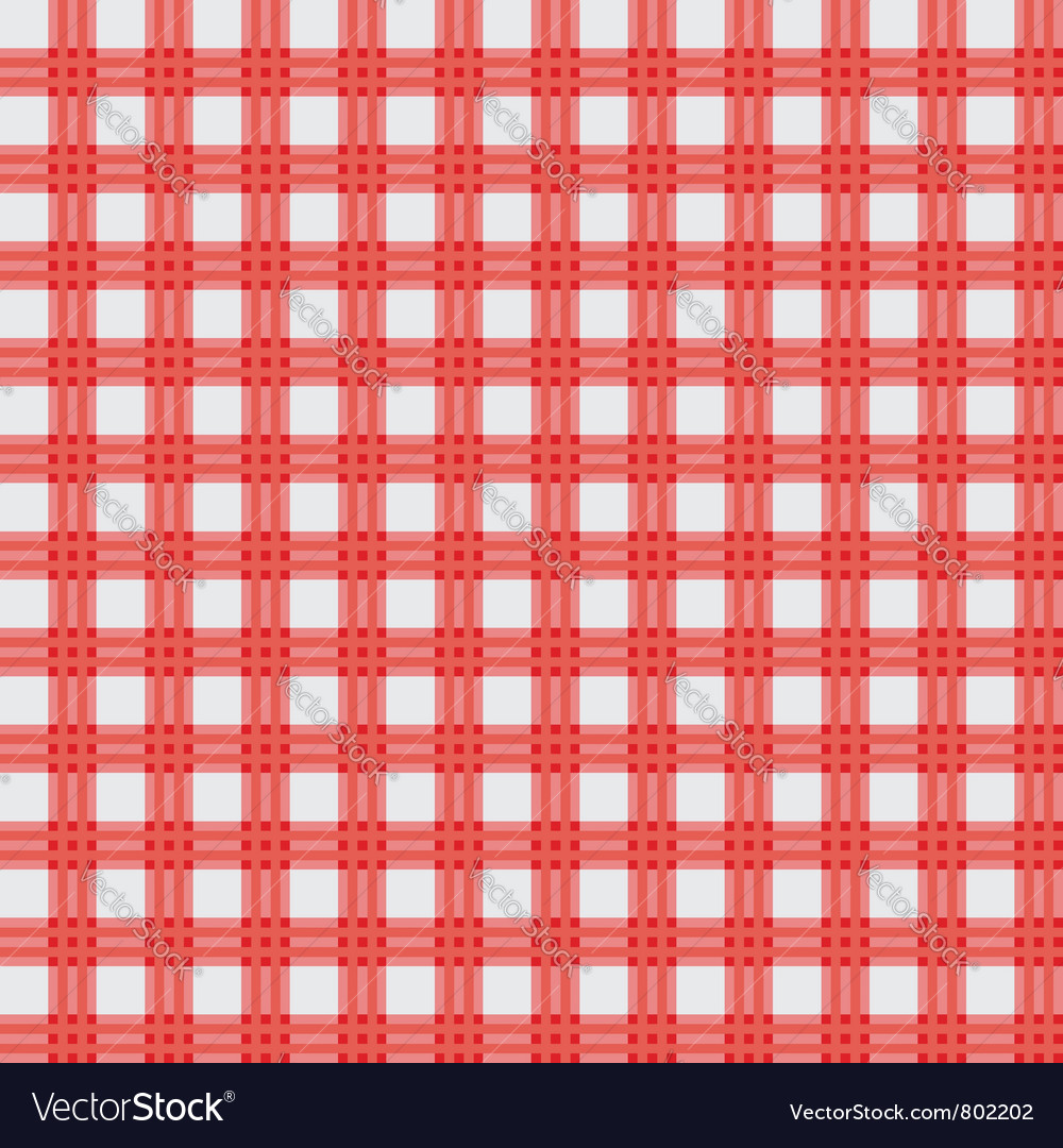 Red picnic cloth vector | Price: 1 Credit (USD $1)