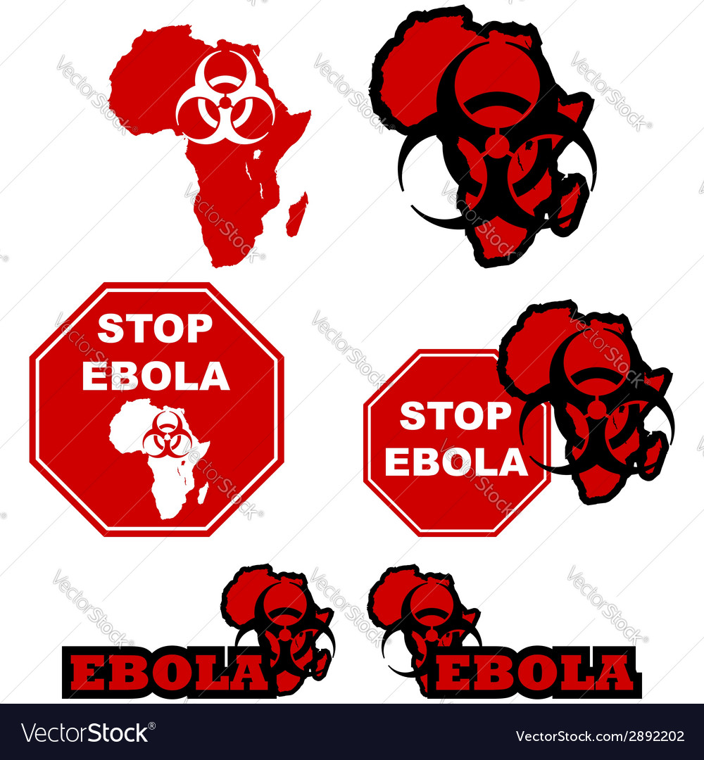 Stop ebola vector | Price: 1 Credit (USD $1)