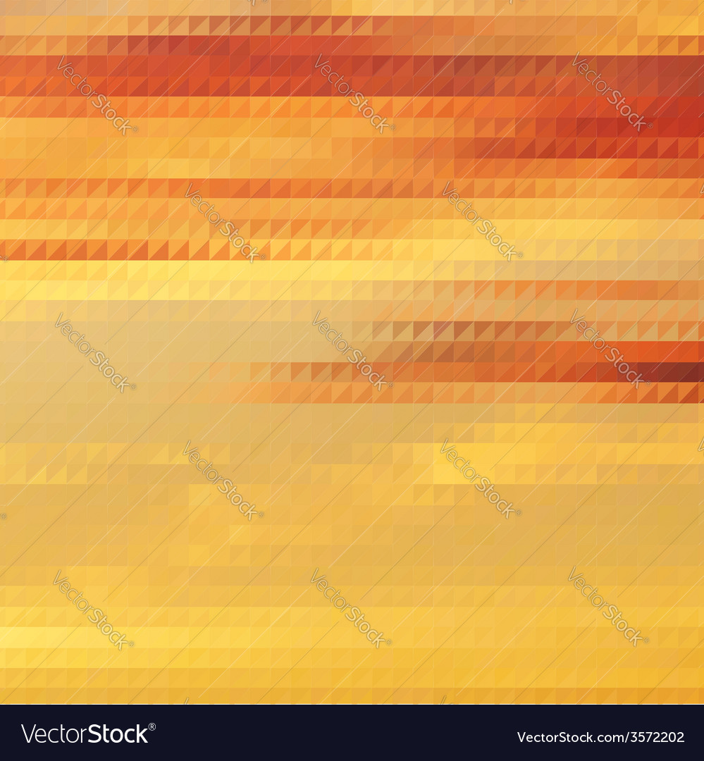 Sundown themed background with triangular grid vector | Price: 1 Credit (USD $1)