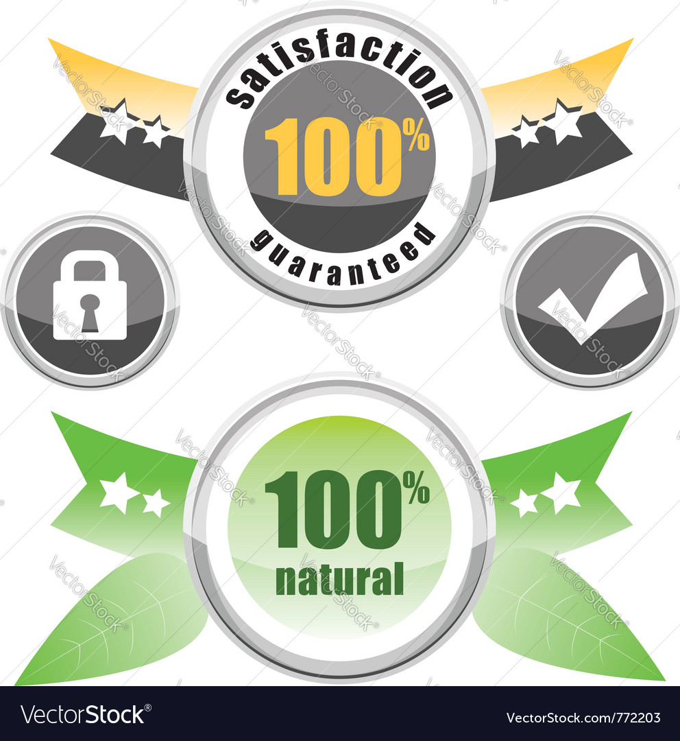 100 natural satisfaction vector | Price: 1 Credit (USD $1)