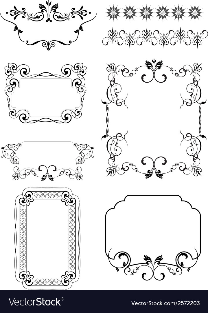 6116 frames vector | Price: 1 Credit (USD $1)