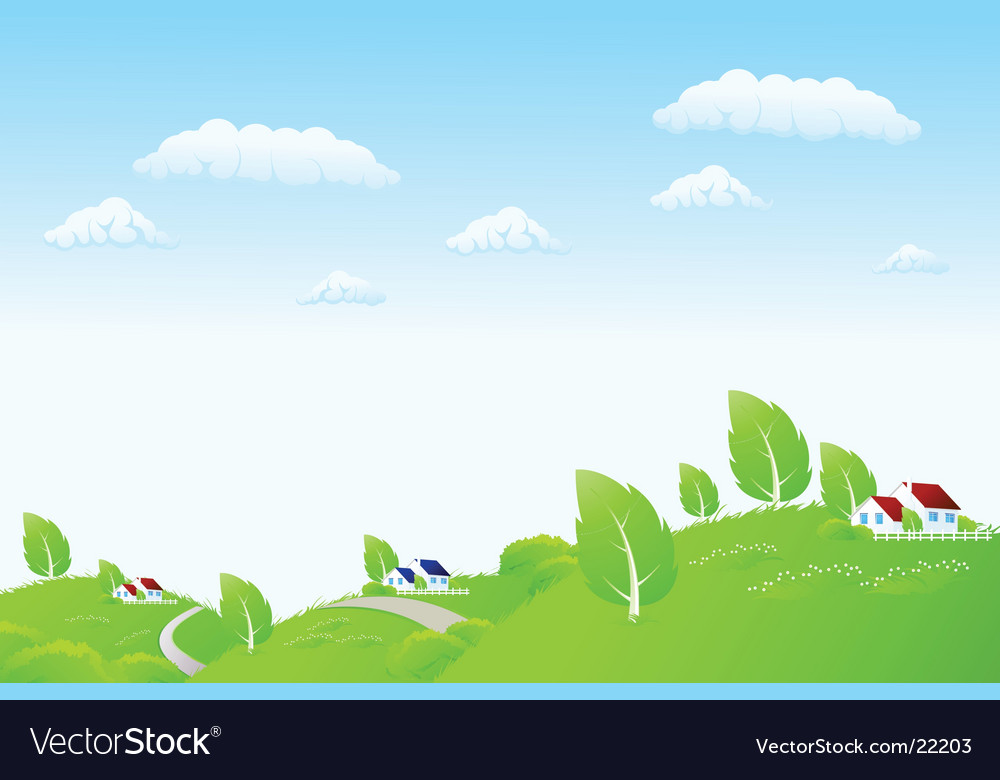 Nature render vector | Price: 3 Credit (USD $3)