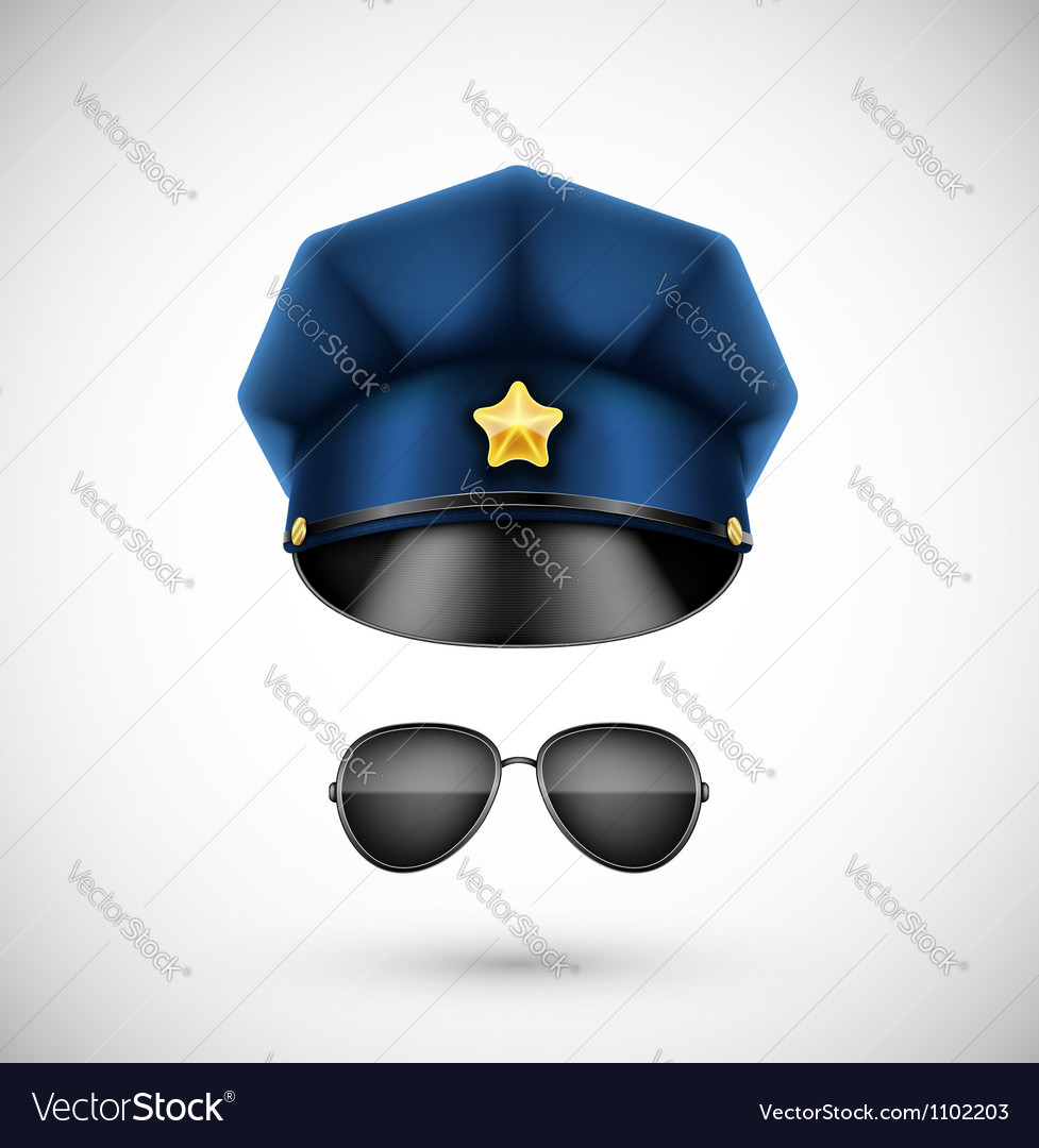 Police accessories vector | Price: 1 Credit (USD $1)
