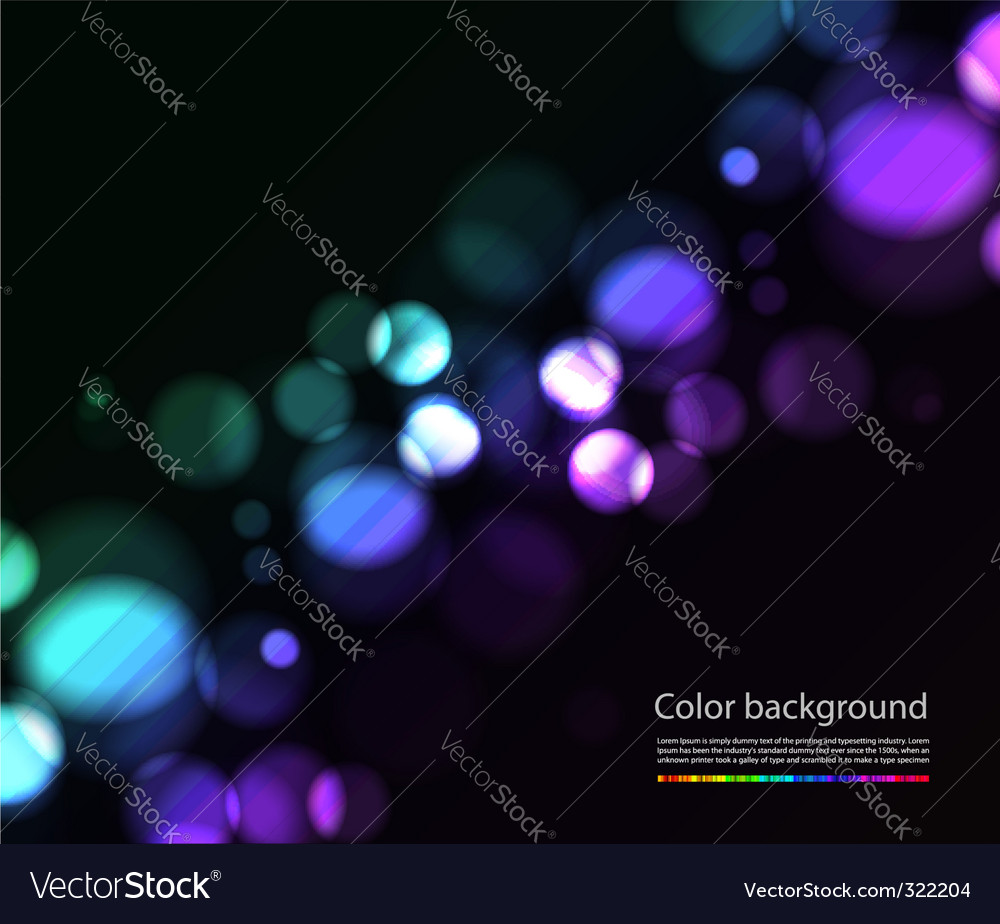 Bokeh lights effects vector | Price: 1 Credit (USD $1)