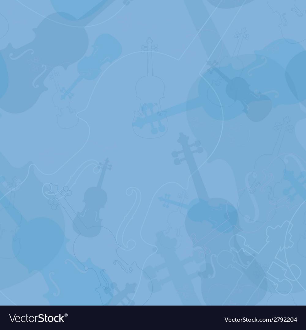Violin pattern vector | Price: 1 Credit (USD $1)