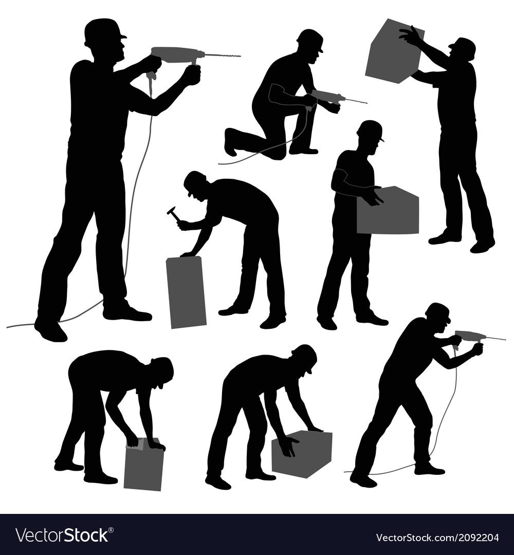 Worker vector | Price: 1 Credit (USD $1)