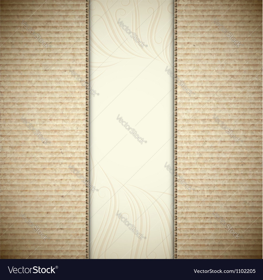 Background with cardboard vector | Price: 1 Credit (USD $1)