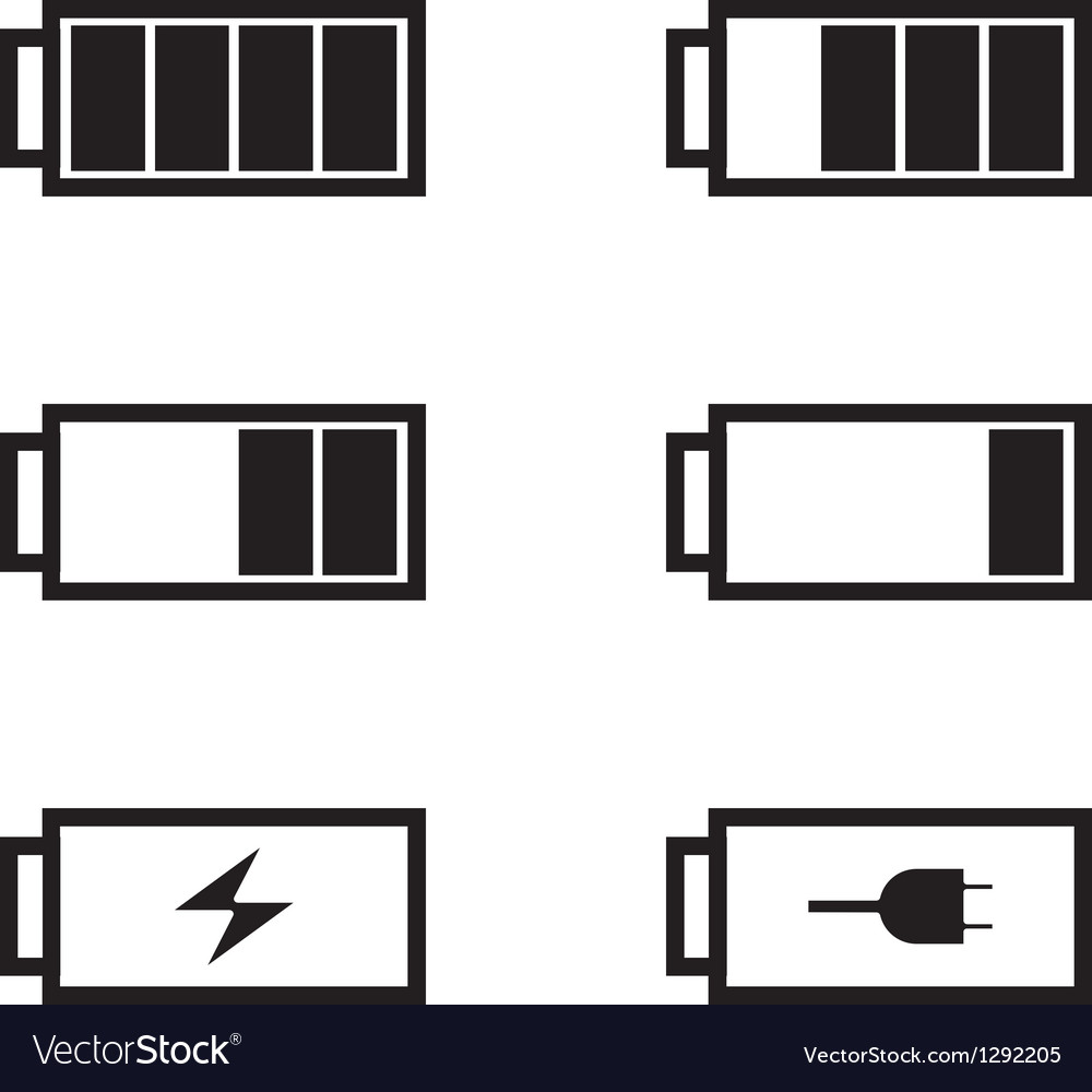 Battery life vector | Price: 1 Credit (USD $1)