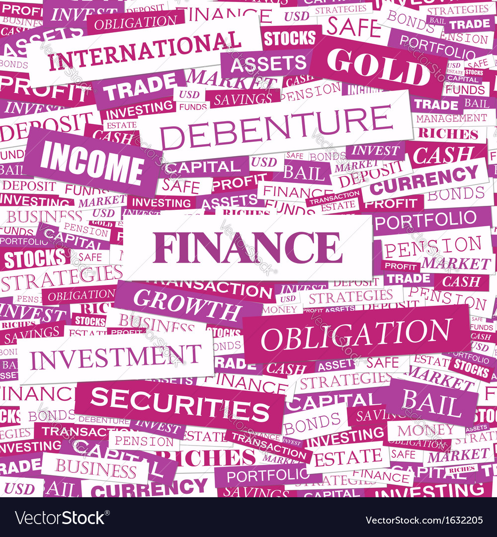 Finance vector | Price: 1 Credit (USD $1)