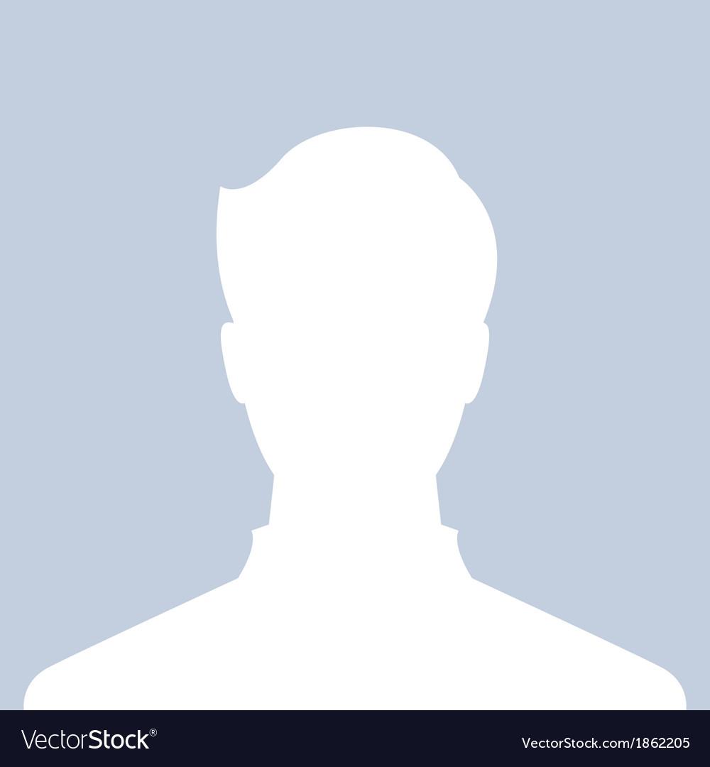 Male profile picture vector | Price: 1 Credit (USD $1)
