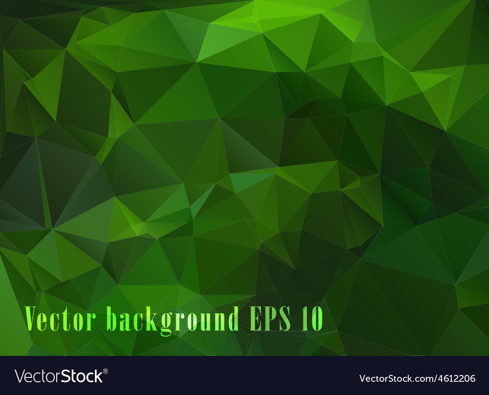 Bright green abstract geometric pattern vector | Price: 1 Credit (USD $1)