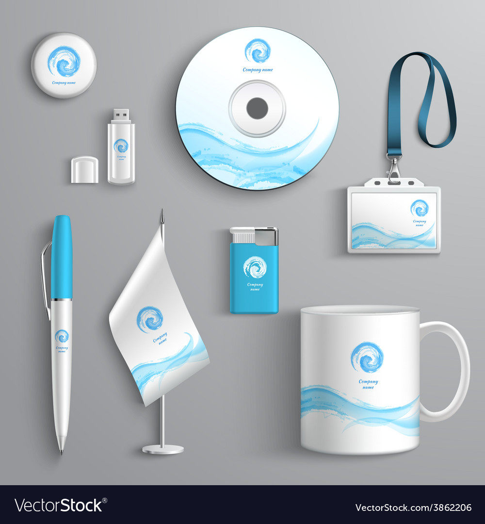 Corporate identity design vector | Price: 1 Credit (USD $1)