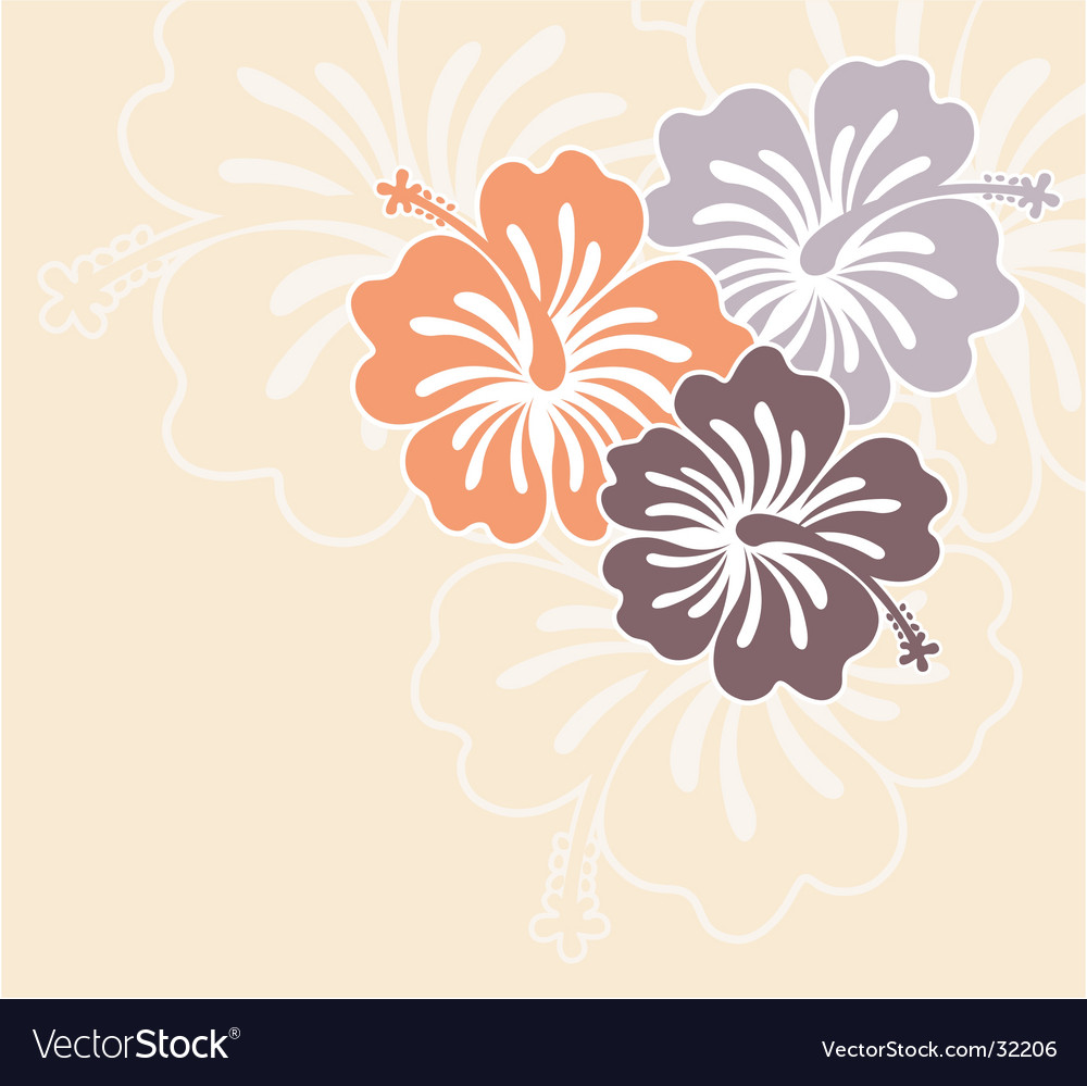 Honolulu flower vector | Price: 1 Credit (USD $1)