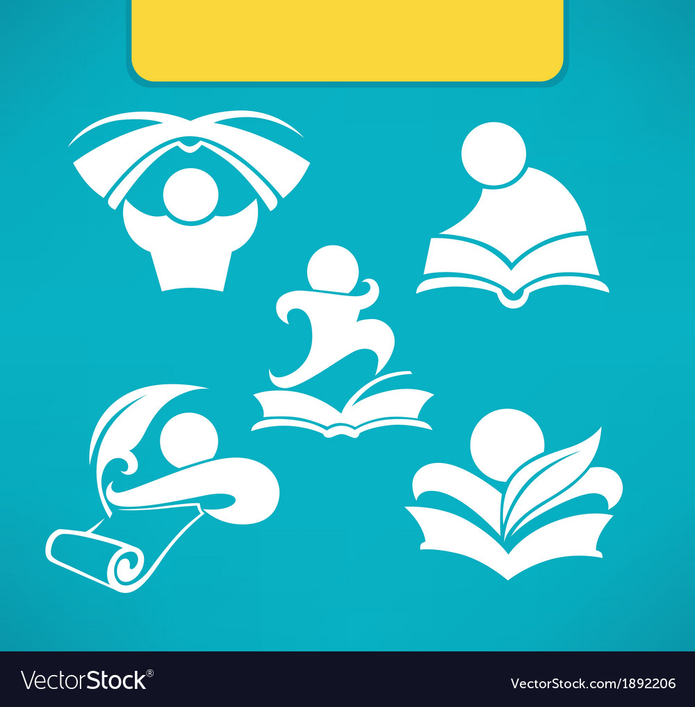 Studing symbols vector | Price: 1 Credit (USD $1)