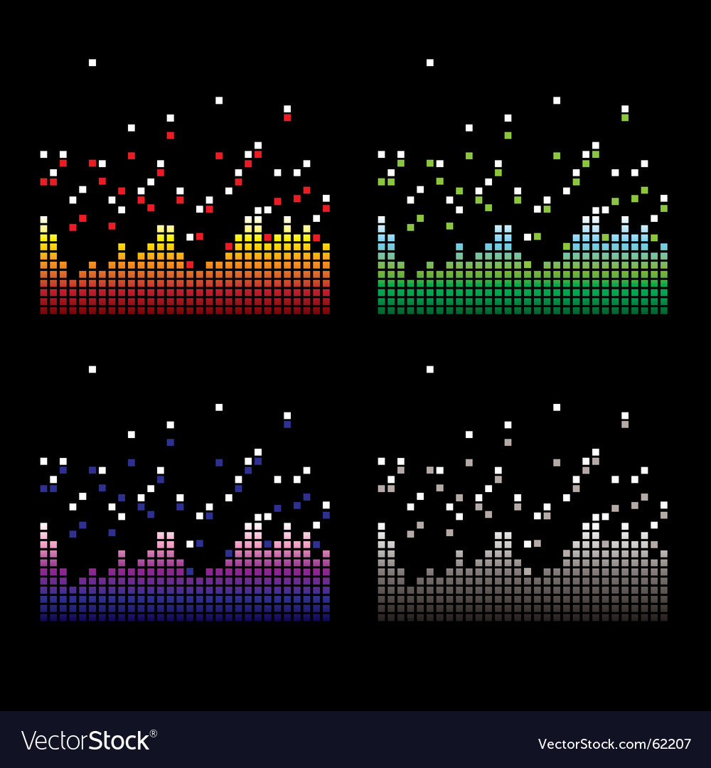 Quad equaliser vector | Price: 1 Credit (USD $1)